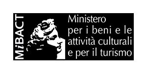 Logo Ministero per i beni e le attività culturali e per il turismo