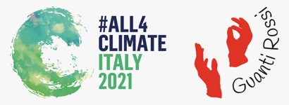 Loghi All 4 Climate e Guanti Rossi
